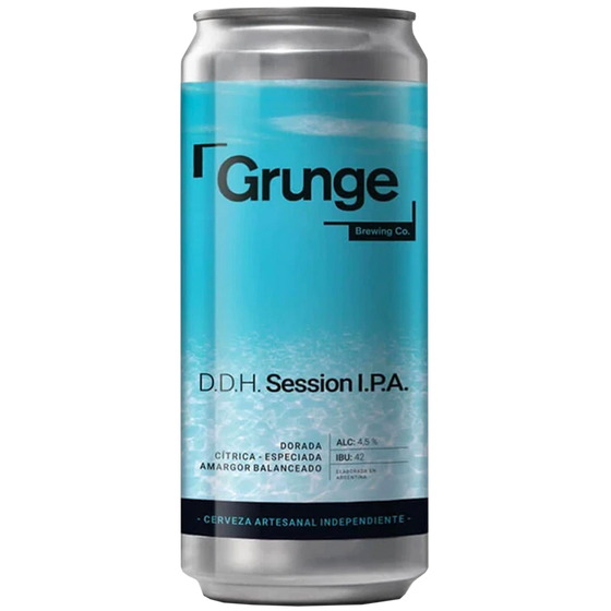 Grunge Session IPA - Lata 473 cc.