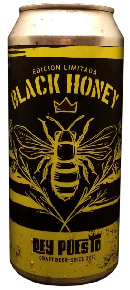 Rey Puesto Dark Queen Honey - Lata 473 cc.