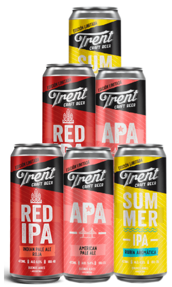 Pack Trent Craft Beer