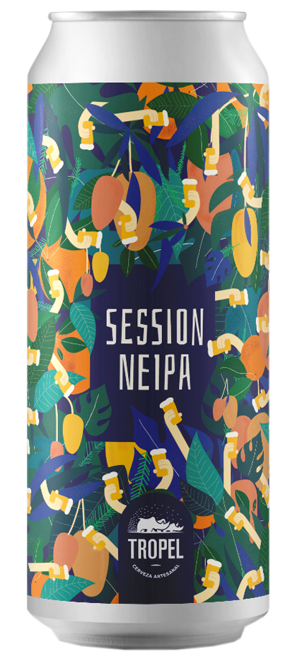 Tropel Session NEIPA - Lata 473 cc.