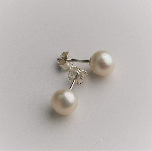 Pair of Sterling Silver Earring Studs