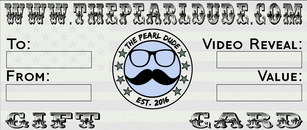 The Pearl Dude Gift Card
