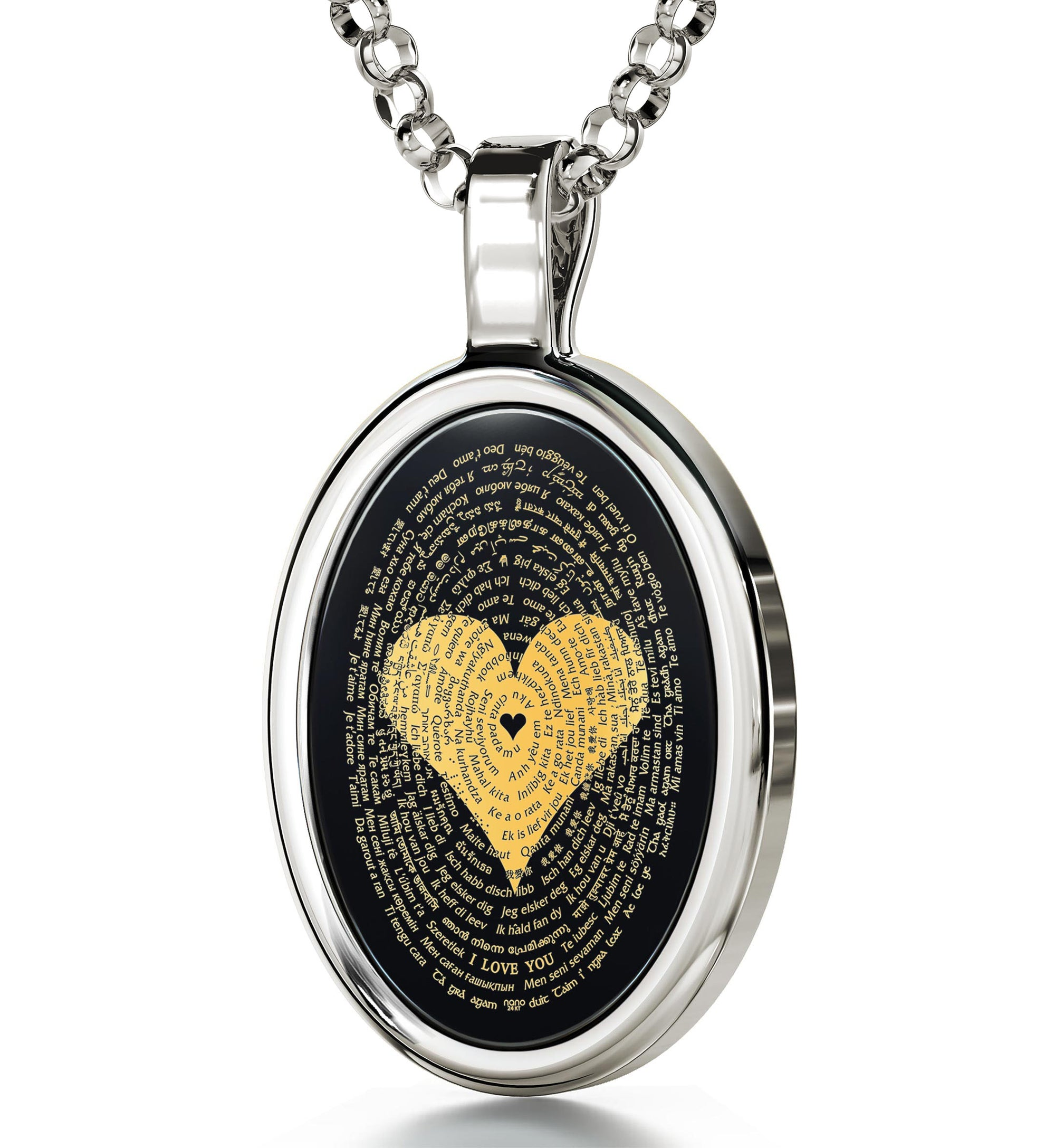 with white pendant diamonds in tw necklace gold onyx