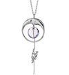 Crescent Moon Necklace Romantic Love Jewelry Gift for Women