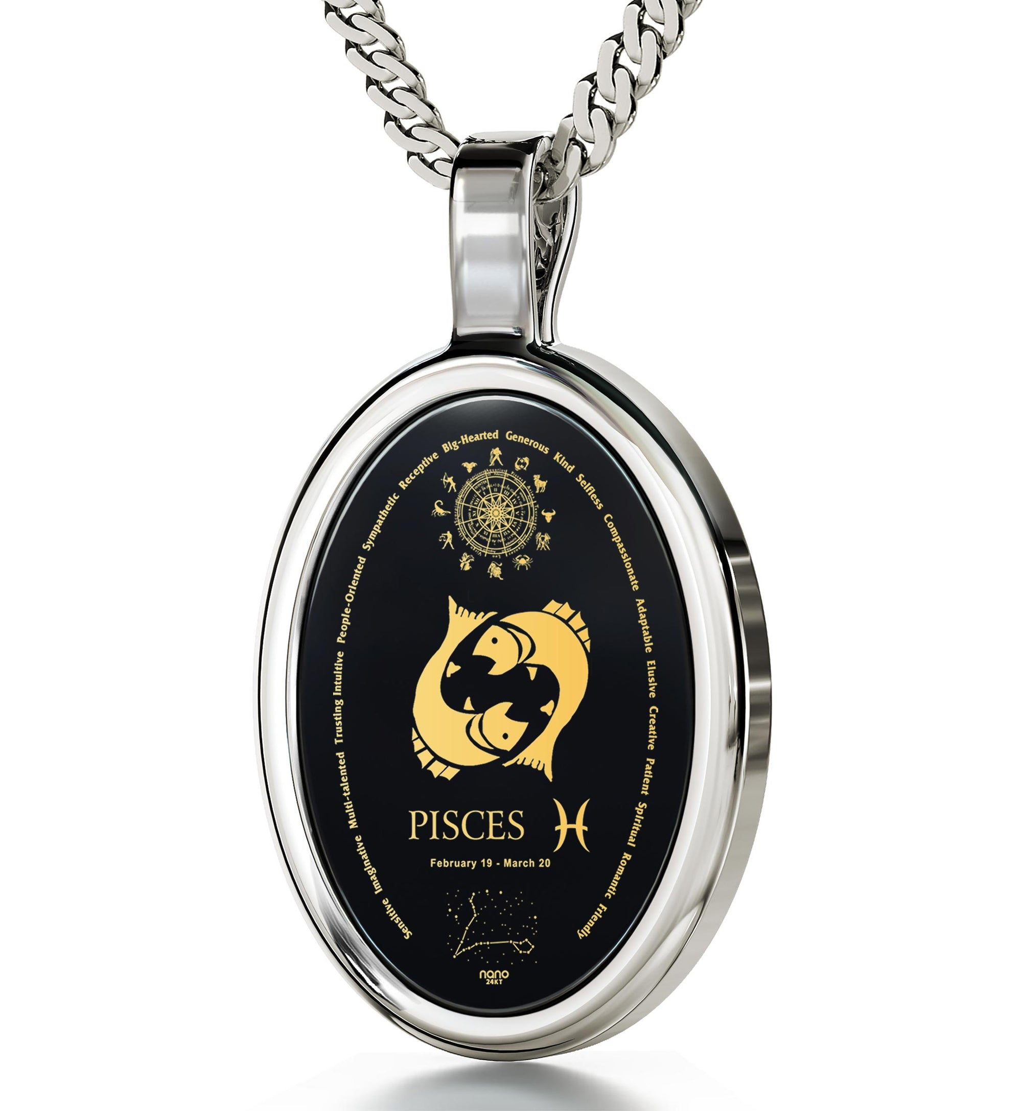 shape ip spiritual chain filigree round walmart necklace pendant engraved with com locket charm