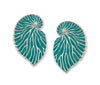 925 Sterling Silver Nautilus Shell Large Stud Earrings - NanoStyle Jewelry
