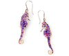 925 Sterling Silver Seahorse Dangle Earrings - NanoStyle Jewelry