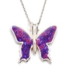 925 Sterling Silver Butterfly Necklace Handcrafted Pendant - NanoStyle Jewelry