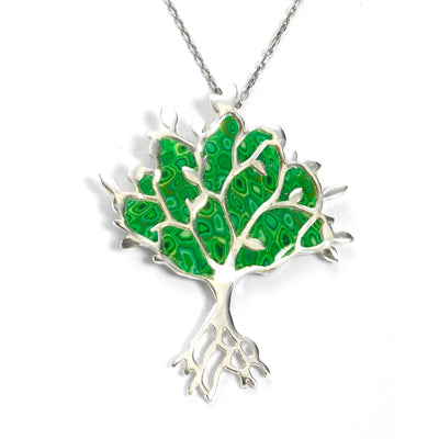 925 Sterling Silver Tree of Life Necklace Pendant - NanoStyle Jewelry