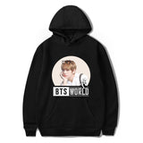 BTS World Warm Hoodie - BTS Merch