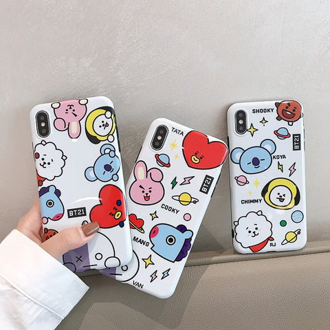 BT21 Cute iPhone Cases - BTS Merch