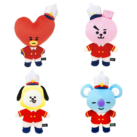 BT21 1st Anniversary Christmas Dolls - BTS Merch