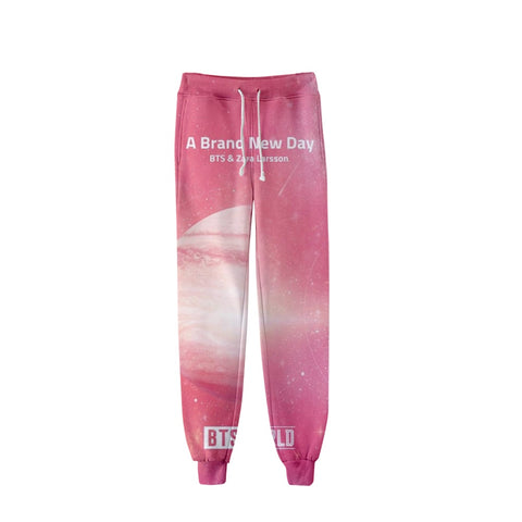 BTS World 3D Sweatpants