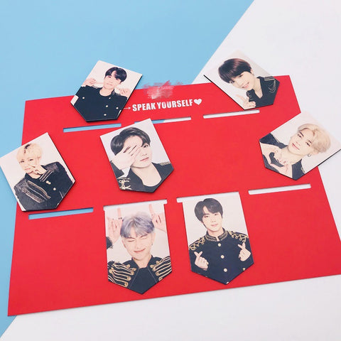 BTS Speak Yourself Double Sided Bookmarks - BTS Merch