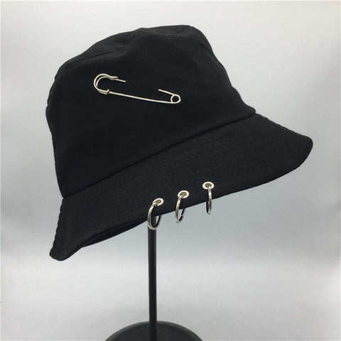 BTS Fashion K POP Iron Ring Bucket Hats - BTS Merch