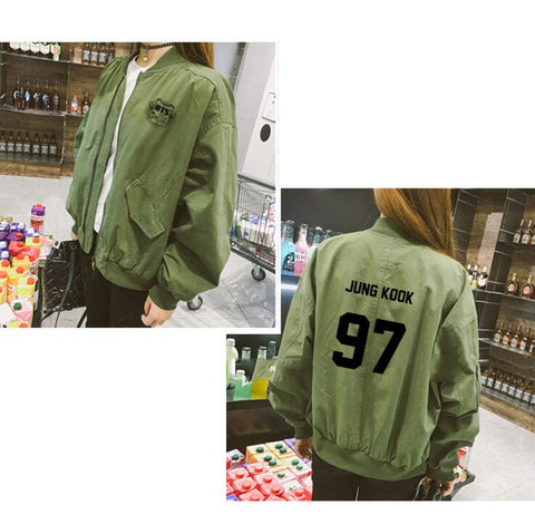 BTS Bangtan Boys Army Jacket - BTS Merch