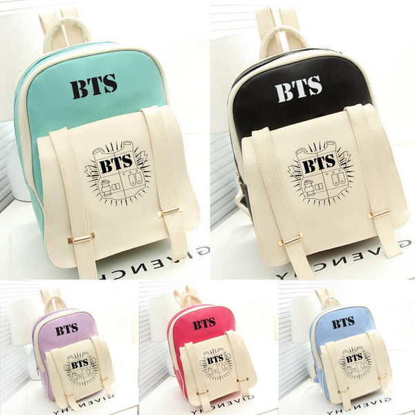 BTS Stylish Backpack - BTS Merch | Premium BTS merchandise