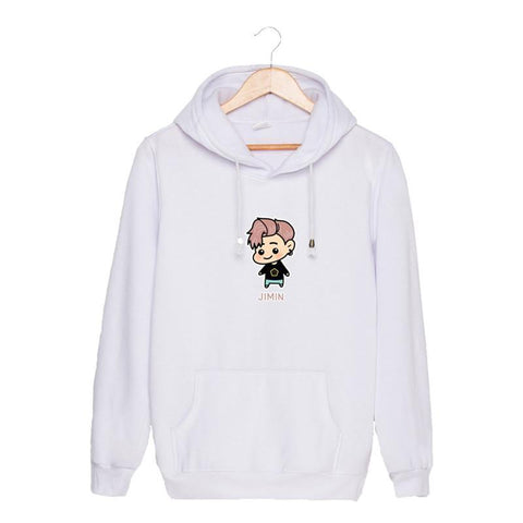 BTS Cute Chibi Hoodies - BTS Merch