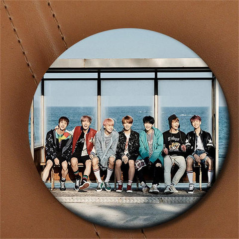 "BTS ""YOU NEVER WALK ALONE"" Album Brooch Pin - BTS Merch"