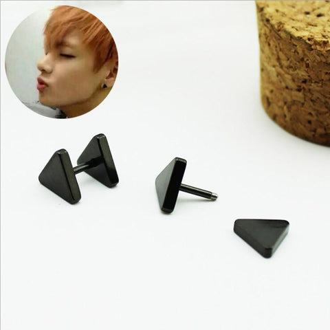BTS JUNG KOOK Stud Earrings - BTS Merch | Premium BTS merchandise