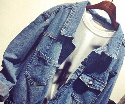 BTS Logo Denim Jacket - BTS Merch