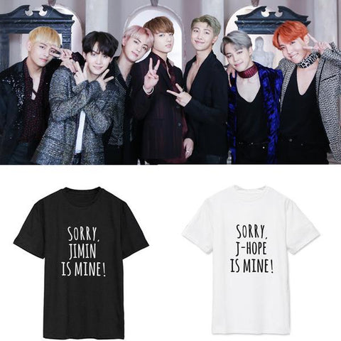 "BTS ""He's Mine"" T-Shirt - BTS Merch"