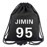BTS Bangtan Boys Drawstring Bag