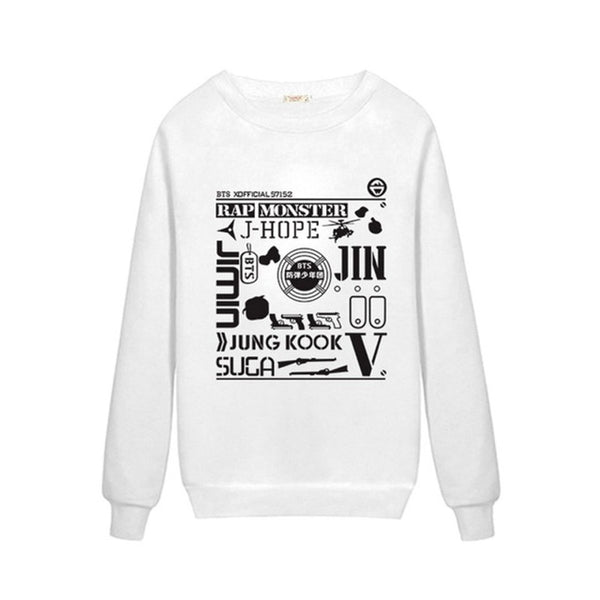 BTS Collage Sweatshirt - BTS Merch