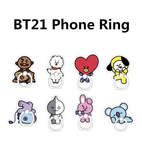 BT21 Limited Edition Phone Rings - BTS Merch