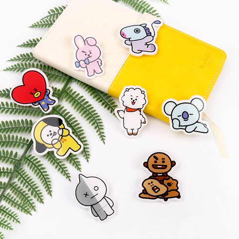 BT21 Limited Edition Brooch Badge - BTS Merch