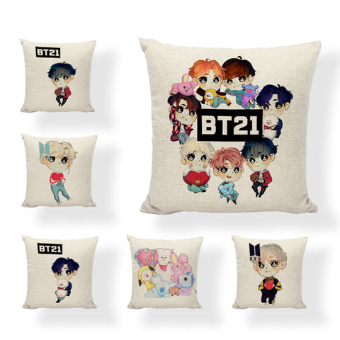 BT21 Limited Pillow Cases - BTS Merch