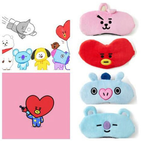 BT21 Limited Edition Sleep Mask - BTS Merch