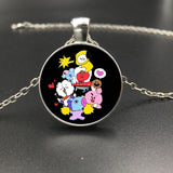 BT21 Characters Necklace - BTS Merch