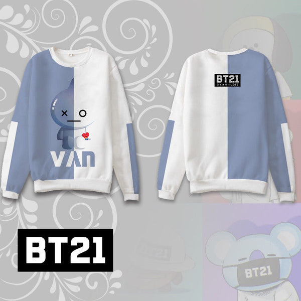 BT21  Van Sweatshirt - BTS Merch