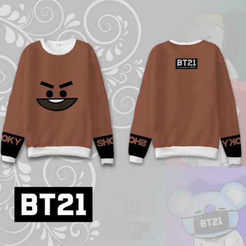 BT21 Shooky Sweatshirt - BTS Merch