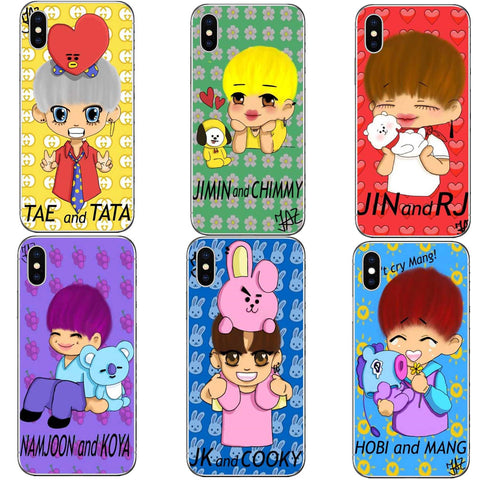 BT21 Characters & Partners Phone Case [iPhone] - BTS Merch