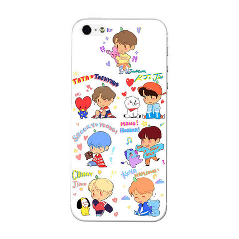 BT21 Graffiti Special Phone Case [iPhone] - BTS Merch