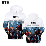 BTS Face Yourself 3D Printed Hoodie - BTS Merch