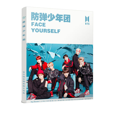 BTS Face Yourself Photobook - BTS Merch