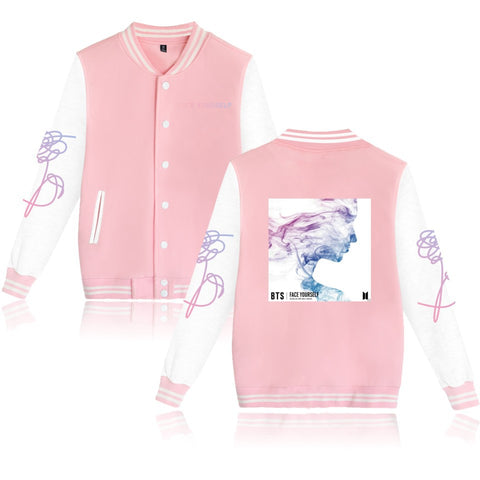 BTS Face Yourself Printed Jacket - BTS Merch