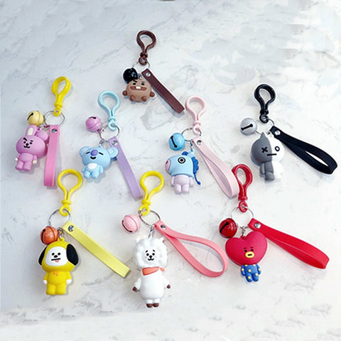 BT21 Cute Keychains/Bag Pendant - BTS Merch