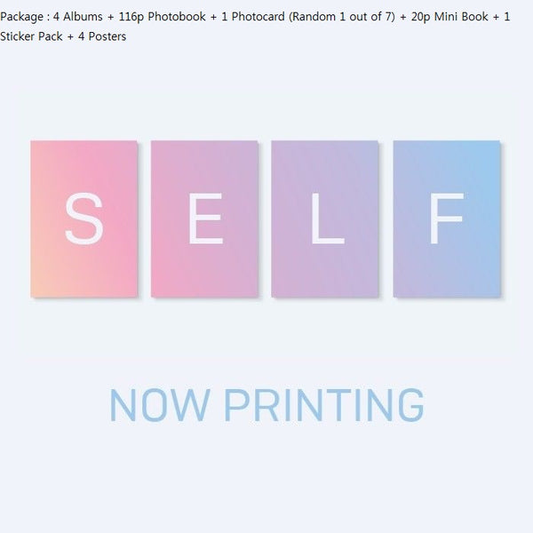 BTS - LOVE YOURSELF - Answer [S+E+L+F ver. SET] +[4 Official Folded Poster] Release Date 2018.08.24