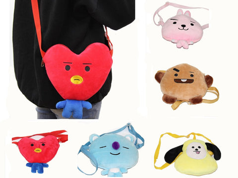 BT21 Plush Sling Bag - BTS Merch