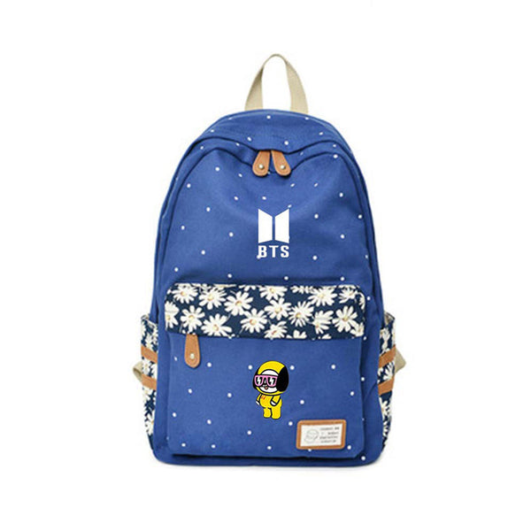 BTS x BT21 Casual School Bag - BTS Merch