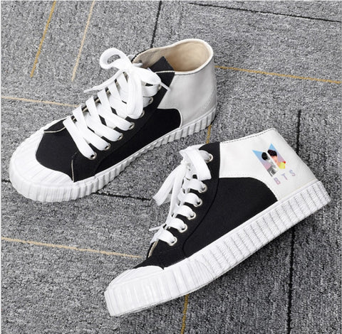 BTS Love Yourself Canvas Shoes - BTS Merch