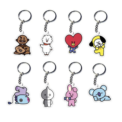 BT21 Characters Keychain | Limited Edition - BTS Merch