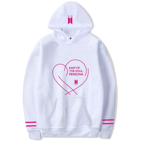 BTS Map of the Soul Persona Heart Hoodie
