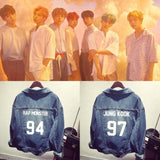 BTS Members Denim Jacket - BTS Merch