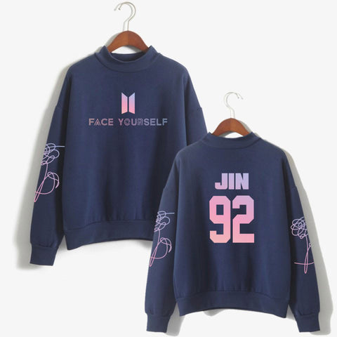 BTS Face Yourself Members Sweatshirt
