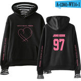 BTS Map of the Soul Persona Striped Hoodie